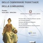 Massimario delle Commissioni Tributarie della Lombardia (1° semestre 2016)